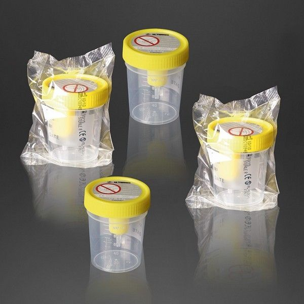 Urine sample container Urintransfer® 25014, Urintransfer® 25015 F.L. Medical
