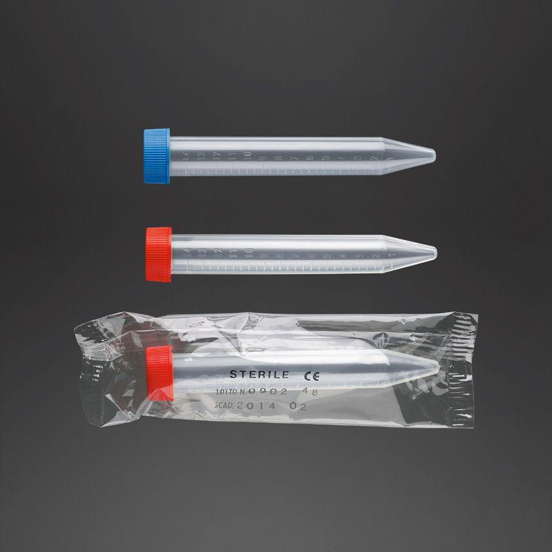 Disposable laboratory centrifuge tube 15 mL | 21408, 21410 F.L. Medical