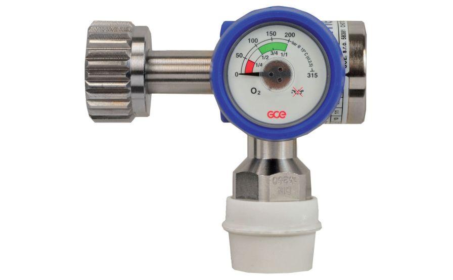 Medical gas pressure regulator / adjustable-flow max. 300 bar | MEDIREG® II GCE