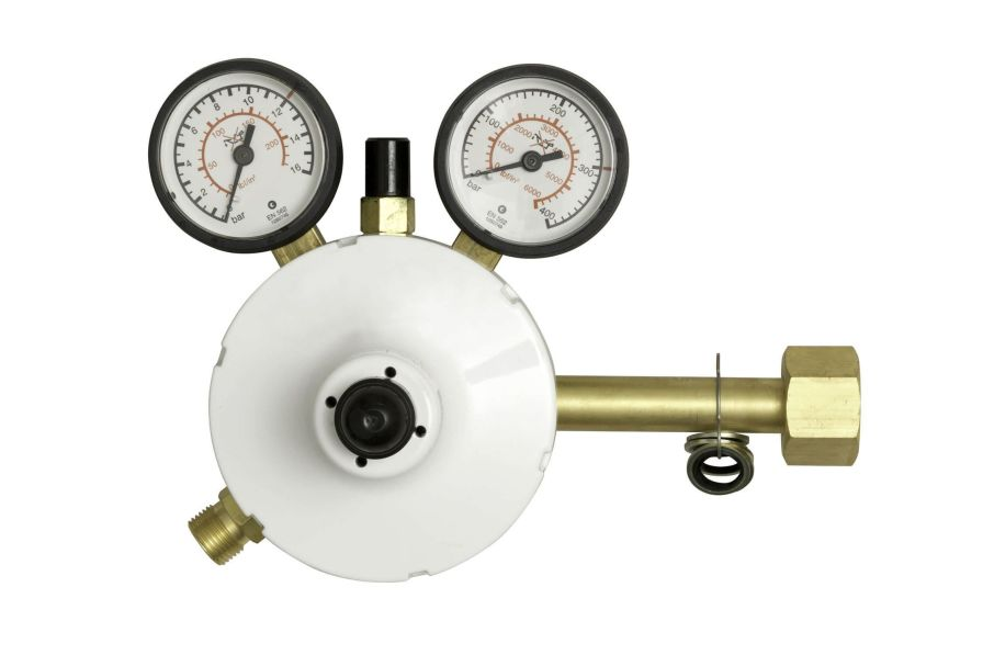 Medical gas pressure regulator / adjustable-flow MMR GCE
