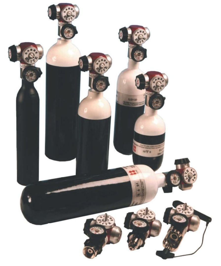 Pneumatic oxygen conserver Elite GCE