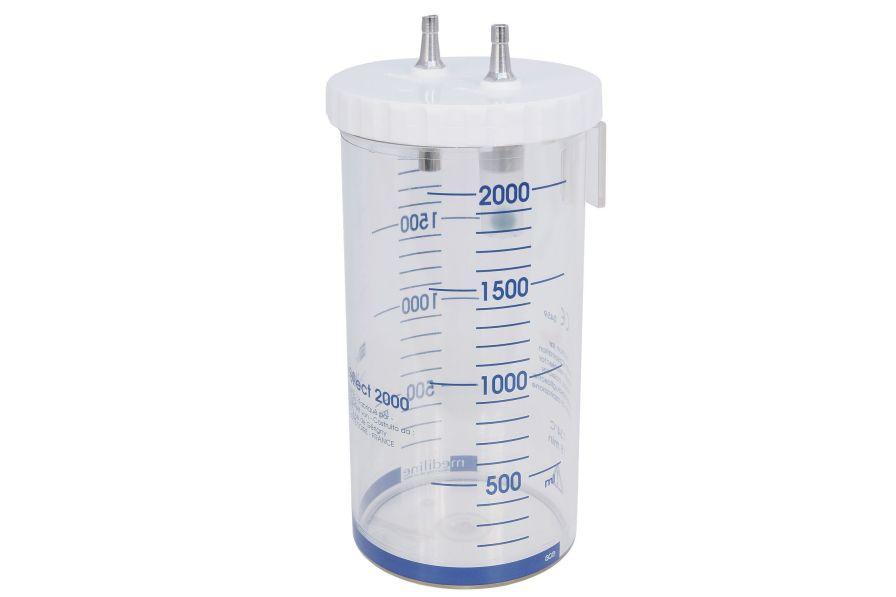 Suction unit jar 2 L | Medicollect GCE