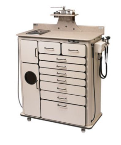 ENT workstation / 1-station Alucobond Tall Deluxe Maxi Global Surgical Corporation