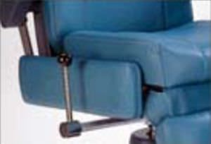 ENT examination chair / electro-hydraulic / with adjustable backrest / height-adjustable SMR® Apex 2300 Global Surgical Corporation