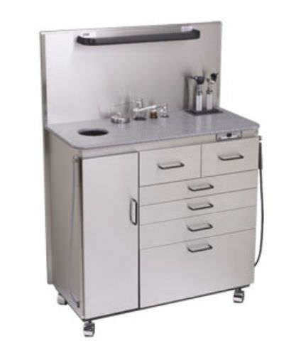ENT workstation / 1-station Deluxe Maxi Global Surgical Corporation