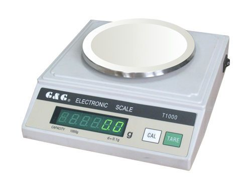 Laboratory balance / electronic / with external calibration weight max. 5 Kg | T series G & G