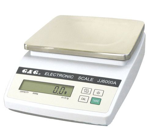 Laboratory balance / electronic / with external calibration weight max. 10 Kg | JJ-A series G & G