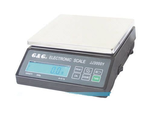 Laboratory balance / electronic / with external calibration weight max. 6 Kg | JJ-Y series G & G