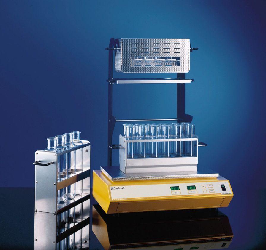 Laboratory infrared digester (Kjeldahl type) TURBOTHERM Gerhardt Analytical Systems