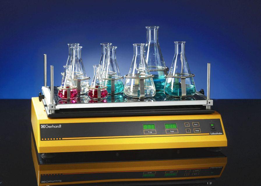 Laboratory shaker / orbital / bench-top LABOSHAKE Gerhardt Analytical Systems