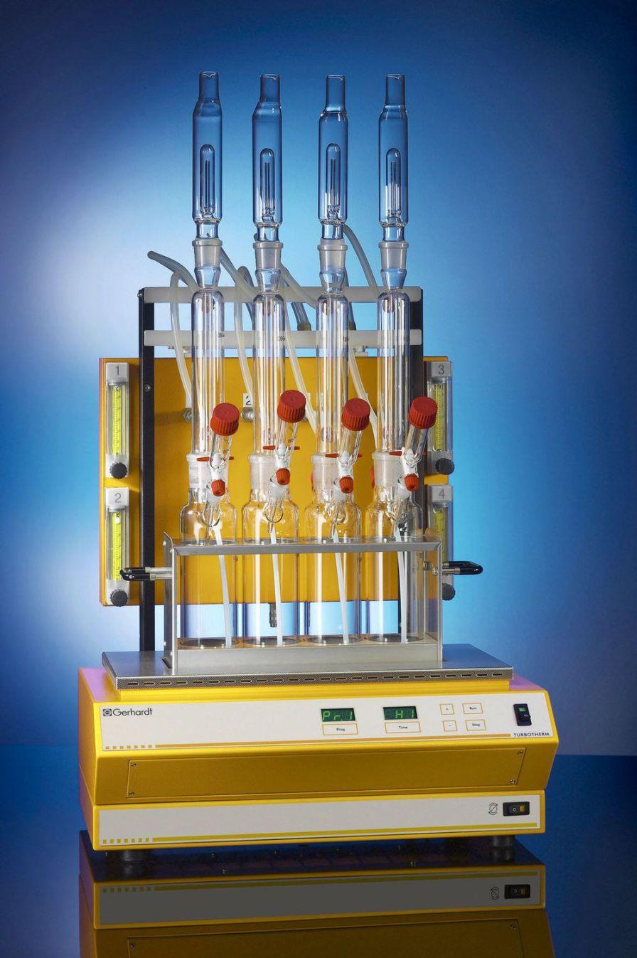 Laboratory digester TT4C Gerhardt Analytical Systems