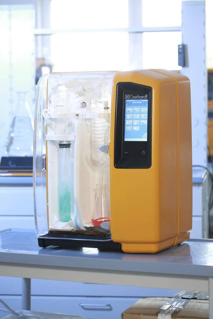 Laboratory automatic distillation system (Kjeldahl type) VAPODEST 200 Gerhardt Analytical Systems