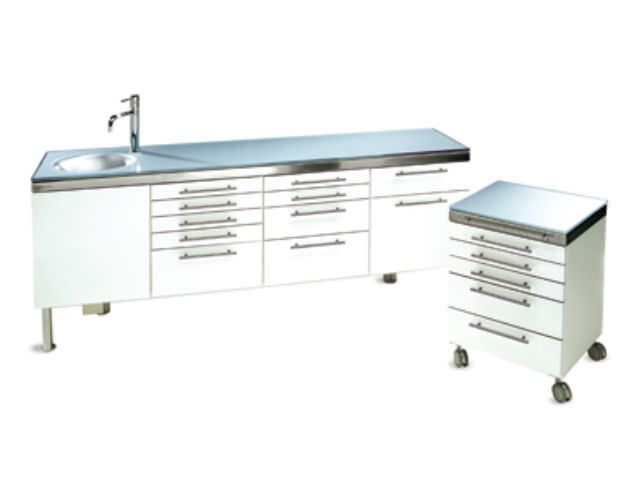 Medical cabinet / dentist office / with sink SPACE FREE GALBIATI
