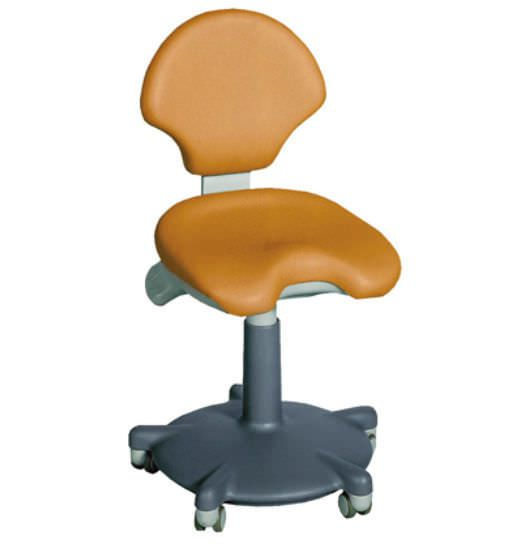Dental stool / with backrest F4 GALBIATI