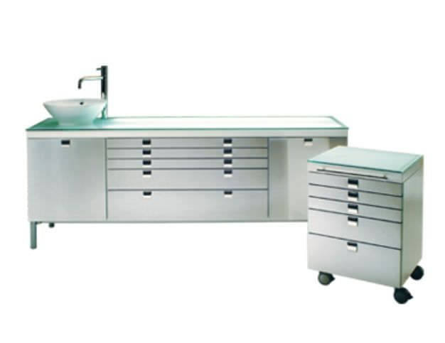 Medical cabinet / dentist office / with sink VIP GALBIATI