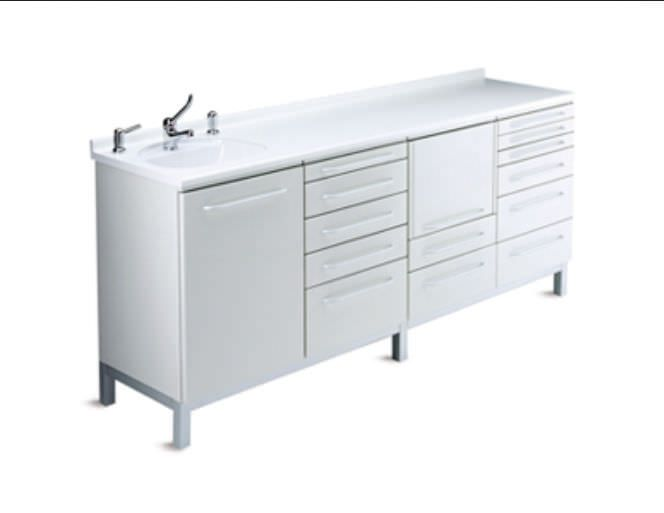 Medical cabinet / dentist office / with sink ELEGANT GALBIATI