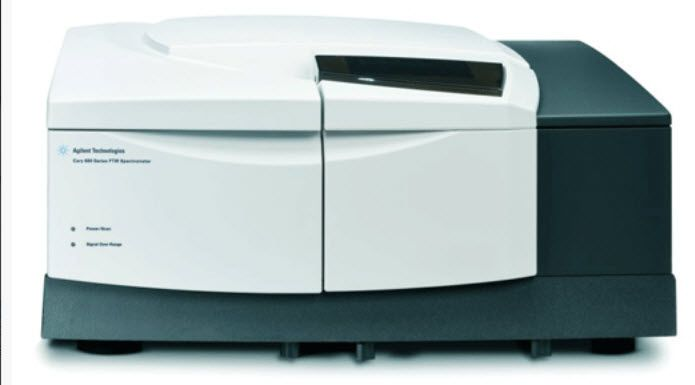 Infrared absorption spectrometer / Fourier transform Cary 670 Agilent Technologies