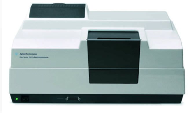 UV-visible absorption spectrometer Cary 100 Agilent Technologies