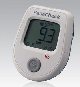 Portable hemoglobin analyzer BeneCheck Hb General Life Biotechnology