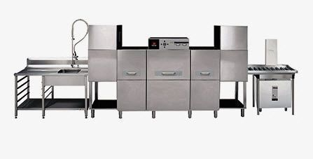 Conveyor dishwasher / for healthcare facilities ECO series Fagor