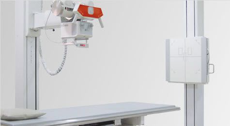 Radiography system (X-ray radiology) / analog / digital / for multipurpose radiography X-R STATIC Lift CR/DR/Film Examion