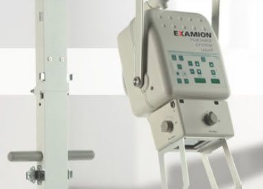 Analog mobile radiographic unit X-R PORTABLE Light Examion
