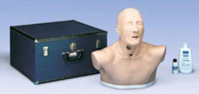 Tracheostomy training manikin / torso W44011 3B Scientific