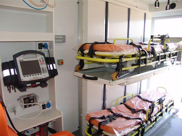 Transport medical ambulance / box EMS Mobil Sistemler