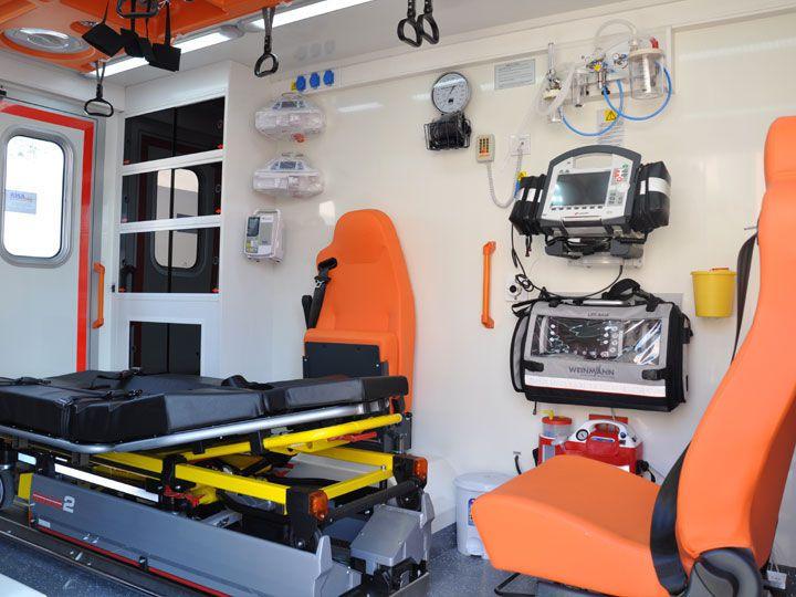 Intensive care medical ambulance / box EMS Mobil Sistemler