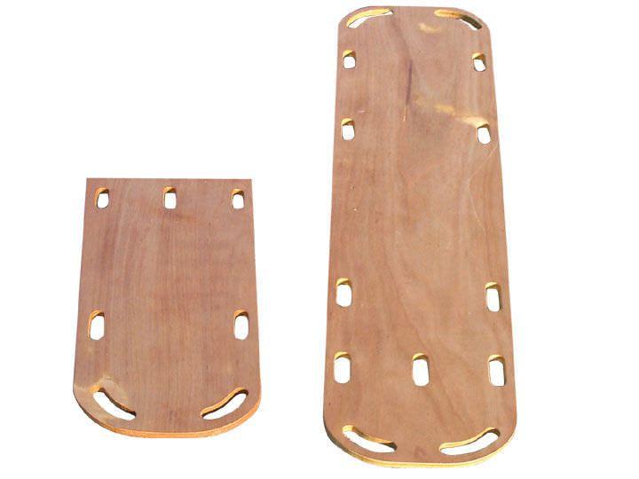 Wooden backboard stretcher max. 160 kg   ES-500 EMS Mobil Sistemler