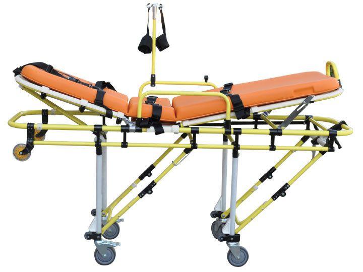 Emergency stretcher trolley / mechanical / 3-section 160 kg   ES-120 EMS Mobil Sistemler
