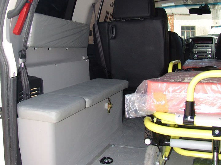Emergency medical ambulance / 4x4 EMS Mobil Sistemler