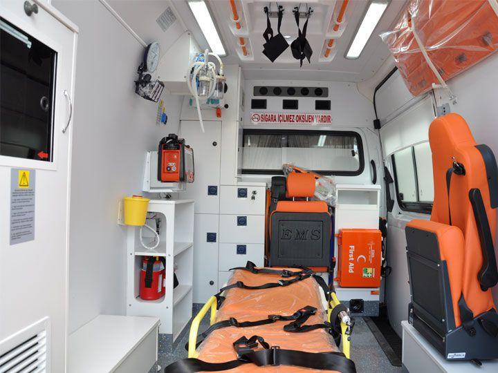 Intensive care medical ambulance / van EMS Mobil Sistemler