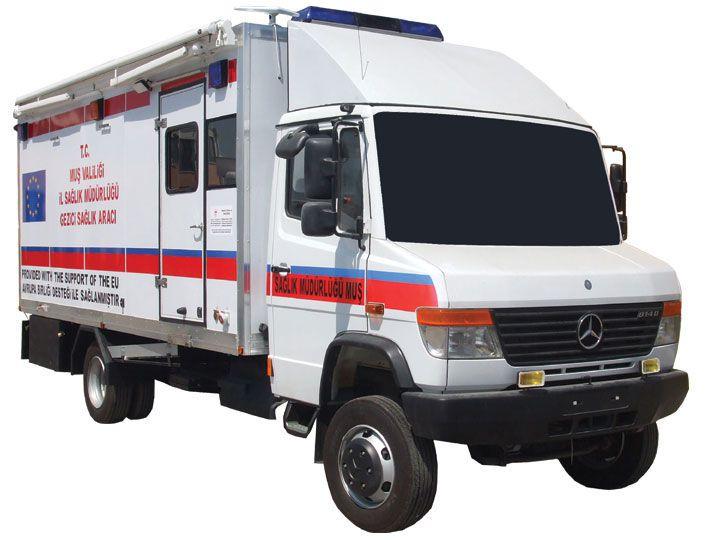 Mobile clinic 4x4 EMS Mobil Sistemler