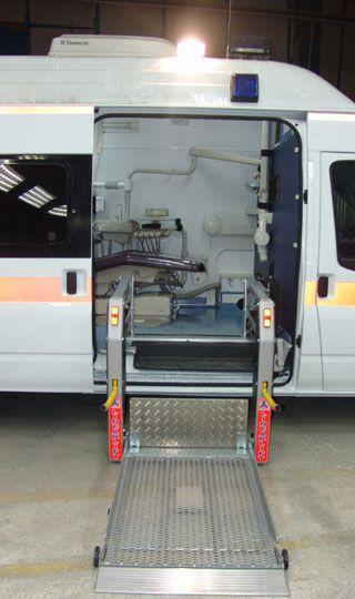 Mobile dental clinic EMS Mobil Sistemler