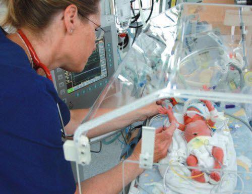 Resuscitation ventilator / CPAP / infant EasyFlow F. Stephan