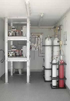 Oxygen cylinder FS F. Stephan