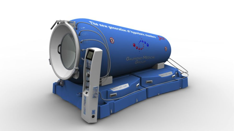 Mobile hyperbaric chamber / monoplace HEMATOCARE™ GAUMOND MEDICAL GROUP INC.