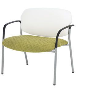Chair with armrests / bariatric Chance Encore