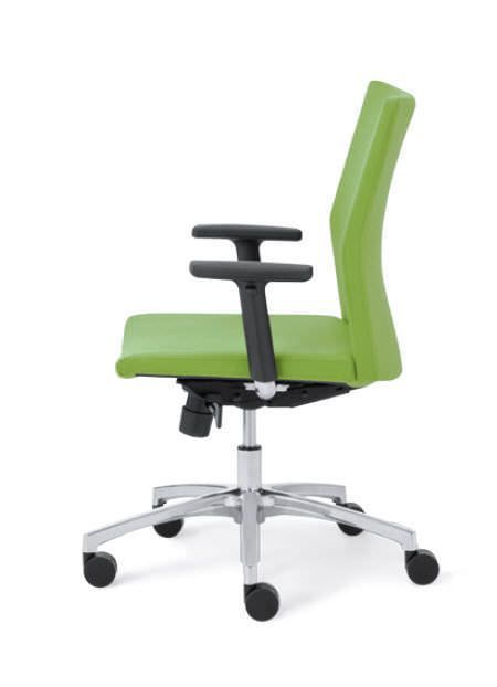Office chair / with armrests / on casters Notion series Encore