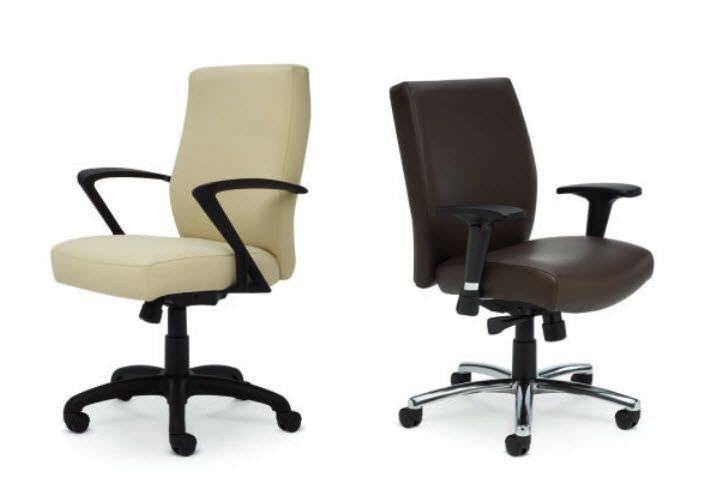 Executive chair / office / on casters Saga series Encore
