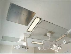 Operating theater filtering ceiling CYCLOPE FRANCE AIR