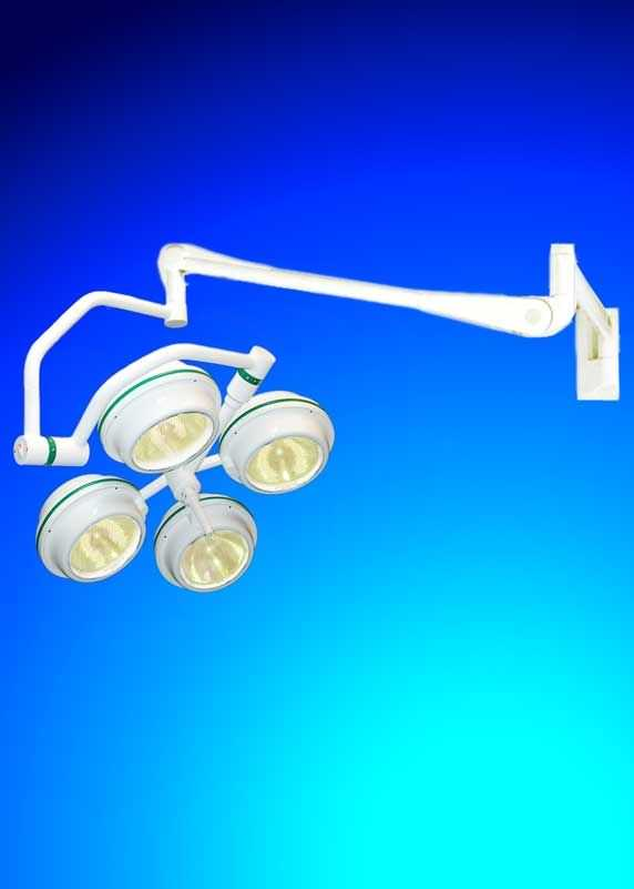 Halogen surgical light / wall-mounted / 1-arm MEDILUX BHW-475p, 140 000 LUX FAMED Lódz