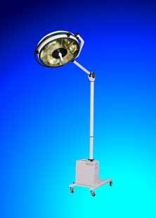 Halogen surgical light / mobile / 1-arm BHS-352 FAMED Lódz