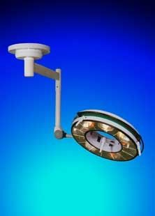 Halogen surgical light / ceiling-mounted / 1-arm BHC-702, 125 000 LUX FAMED Lódz