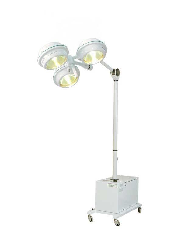 Halogen surgical light / mobile / 1-arm MEDILUX BHS-375A, 120 000 LUX FAMED Lódz