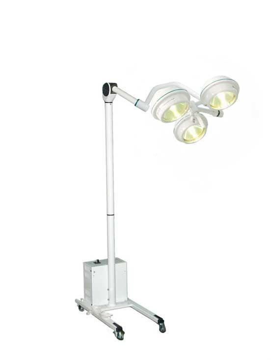 Halogen surgical light / mobile / 1-arm MEDILUX BHS-375, 120 000 LUX FAMED Lódz