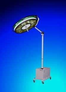 Halogen surgical light / mobile / 1-arm BHS-502A, 110 000 LUX FAMED Lódz