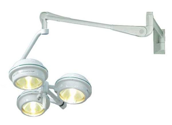 Halogen surgical light / wall-mounted / 1-arm MEDILUX BHW-375p, 120 000 LUX FAMED Lódz