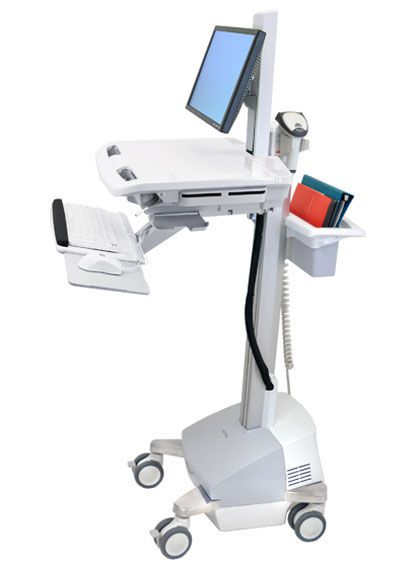 Battery-powered computer cart / medical / height-adjustable StyleView® SV42-6301 ergotron